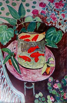 les poissons rouges 1911...Henri Matisse
