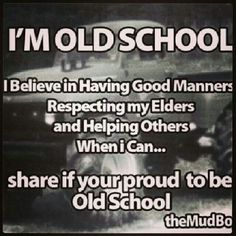 """LOVE it...called manners, morals, values, repsect...HOW G'ood decent, Strong HEART n SOUL children are made compared to these shit throwing, monkey acting """"things"""" they call """"kids"""" and """"adults"""""""