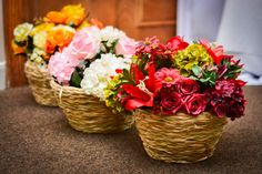 Arranjos Artificias coloridos. Perfeitos para vitrines com tema de primavera, casamentos, noivados... – Sua casa mais Formosinha