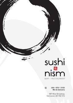 Best Picture For Sushi quotes For Your Taste You are looking for something, and it is going to tell you exactly what you are looking for, and you didn't find that picture. Here you will find the most Food Poster Design, Menu Design, Logo Design, Sushi Logo, Sushi Menu, Homemade Sushi, Diy Sushi, Sushi Quotes, Japanese Menu