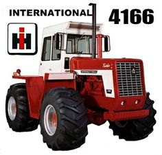 International 4166. I always liked this model, well any non-articulated 4x4, for some reason