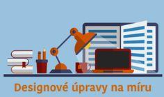 Designové úpravy pro webové stránky a e-shopy, které Vám pomohou zvýšit návštěvnost webu a počet objednávek.