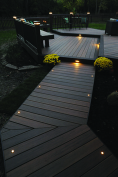 Light the night for you and your guests with TimberTech Decking and Lighting. Th... - http://centophobe.com/light-the-night-for-you-and-your-guests-with-timbertech-decking-and-lighting-th/ - Going Back To School, Summertime, Atlanta Georgia, Schedule, Lisa, Deck, September, Architects, Christmas