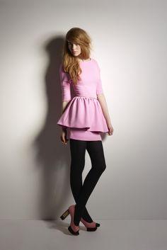 Twenty8Twelve Fall 2012 RTW. Peplum unzips! Find it in Contemporary Sportswear. ~mon