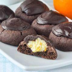 Chocolate Orange Thumbprint Cookies