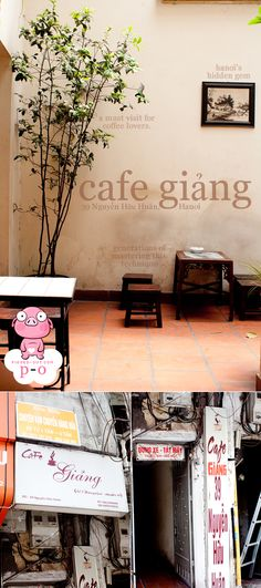 Cafe Giang. Best coffee in Hanoi http://viaggi.asiatica.com/