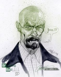 J. Scott Campbell Draws Our Favorite BREAKING BAD Characters!