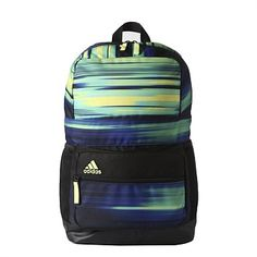 7c76acc614d Rebel Sport - Adidas Asbp Graphic Backpack Black Yellow Medium