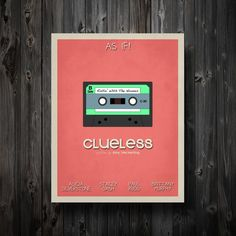 Clueless poster ($35) #90s
