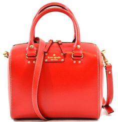 Kate Spade Wellesley Alessa Genuine Leather Shoulder Crossbody Bag Purse Handbag (Garnet Red) kate spade new york,http://www.amazon.com/dp/B00EXYF5EA/ref=cm_sw_r_pi_dp_96Iatb1WEACZVSNF