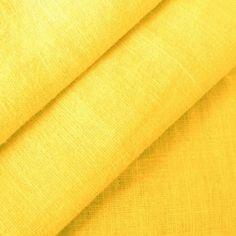 100% Leinen Stoff Meterware Farbe Gelb: Amazon.de: Küche & Haushalt