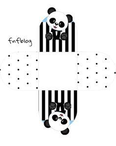 Forminha Docinho 3D Panda Azul Menino totalmente grátis, pronto para personalizar e imprimir em casa. Panda Decorations, Christmas Window Decorations, Panda Party, Bear Theme, Baby Shower, Cute Cartoon Wallpapers, Ideas Para Fiestas, 2nd Baby, Cute Stickers