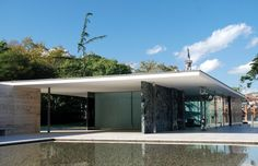 Barcelona Pavilion by van der rohe