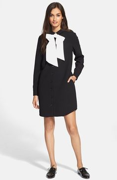 kate spade new york bow shirtdress available at #Nordstrom