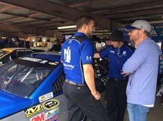 Travis Mack, Adam Jordan & Dale Jr. at Dover Oct. 1, 2016