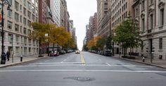 Image for Empty City Street Desktop Wallpaper