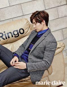 """Song Jae Rim for """"Marie Claire"""" Nov Issue"""