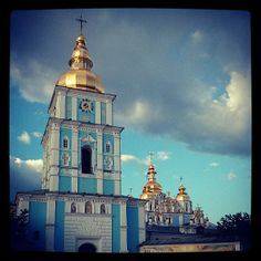 Михайлівський золотоверхий собор / Mykhailivsky Cathedral in Київ