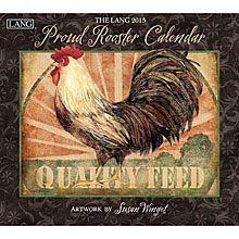 Susan Winget Proud Rooster 2015 Wall Calendar