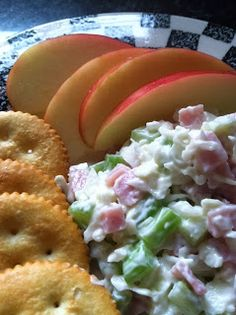 Prohibition-Era Ham Salad with lots of celery and cabbage makes a tasty light lunch or snack.