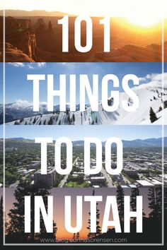 101 things to do in utah. lots of fun hikes! | Corinasorensen