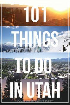 101 things to do in utah. lots of fun hikes! | Corinasorensen