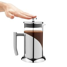 French Press Coffee Maker - ANGELICA French Style Coffee & Tea Press