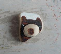 Beach Pottery Bear by LillaJizo on Etsy