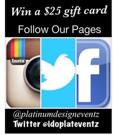 Show some love, support our pages!! Thank you! The Platinum Team #platinumdesigneventz