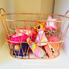 Basket of Lush bubble bars