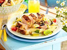 Fleisch grillen - Rezept-Ideen mit Kotelett und Co. - haehnchenbrust-vom-grill  Rezept
