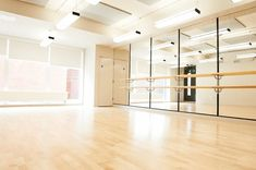 Trendy Home Studio Dance Natural Light Home Dance Studio, Dance Studio Design, Ballet Room, Ballet Studio, Tanzstudio Design, House Design, Dance Rooms, Pilates Studio, Studio Lighting