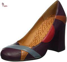 Chie Mihara  tassia, Escarpins femme - Multicolore - Mehrfarbig (loreto grape-loreto cielo), 35 - Chaussures chie mihara (*Partner-Link)