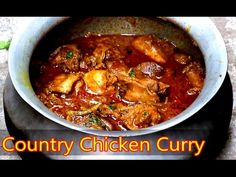 Dhabha Style Chicken Curry | Indian Chicken Curry | Simple Chicken Curry recipe | bharatzkitchen - YouTube
