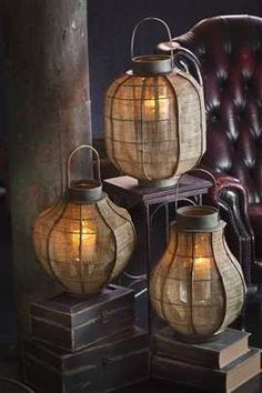 Rustic Lanterns*❄*