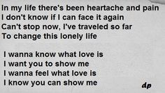 Foreigner - I wanna know what love is. (There are songs that never get old) Break Up Quotes, All Quotes, Lyric Quotes, Bad Relationship, I Love Music, What Is Love, Happy Thoughts, Friendship Quotes, Getting Old