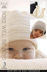 DiaryofaCreativeFanatic: Needlecrafts - Knit Baby, Boys will be Boys