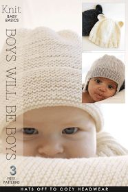 DiaryofaCreativeFanatic: Needlecrafts - Knit Baby, Boys will be Boys