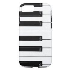 Piano Keyboard Keys iPhone 7 case