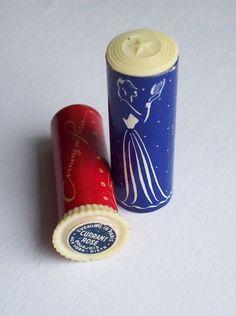 RARE Vintage Evening in Paris Bourjois Lipstick Holder Vanity Compact Makeup
