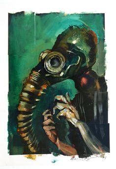 Sandman by Dave McKean