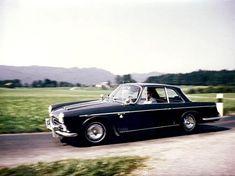 1959 Alfa Romeo Vignale 2000S Prototyp Hier noch schwarz lackiert