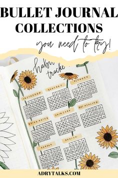 19 Bullet Journal Collections You Need to Try - Adry Talks Bullet Journal Contents, Bullet Journal Tracker, Bullet Journal School, Bullet Journal Layout, Bullet Journal Inspiration, Journal Ideas, Bullet Journal For Beginners, Bullet Journal How To Start A, Bujo Monthly Spread