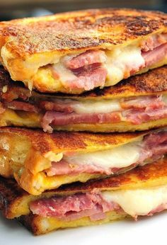 Favorite Recipes: Monte Cristo Sandwich