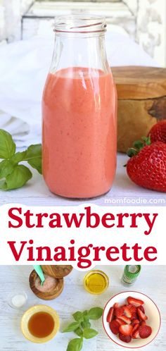 Low Unwanted Fat Cooking For Weightloss Strawberry Vinaigrette - Healthy Strawberry Salad Dressing Recipe Salad Dressing Recipes, Recipe For Strawberry Salad Dressing, Strawberry Salad Dressings, Salad Dressing For Diabetics, Healthy Salad Dressings, Vinagrette Dressing Recipe, Strawberry Salads, Strawberry Sauce, Vinaigrette