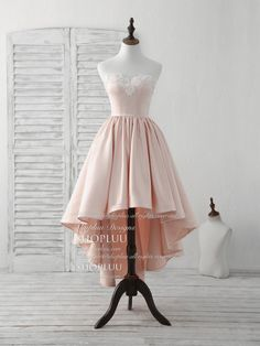 Short Wedding Dresses : Pink sweetheart neck short prom dress pink homecoming dresses, pink cocktail dress Source by huggacuppa Dresses Cute Prom Dresses, Prom Dresses 2018, Grad Dresses, Dance Dresses, Pretty Dresses, Sexy Dresses, Beautiful Dresses, Evening Dresses, Formal Dresses