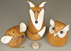 Laura Mirjami leather animals