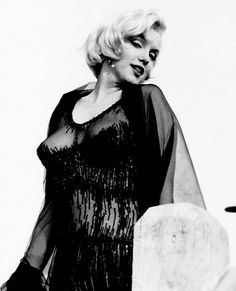 """Marilyn Monroe on the set of Some Like It Hot, 1958. """