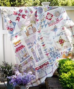 Foxley Village - Cushlas Village Fabrics