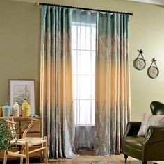 Cheap curtains for, Buy Quality blackout curtains directly from China curtains for living room Suppliers: 2016 American print Semi blackout curtain cortinas para sala de luxo curtains for living room curtain for bedroom rideau voilage Purple Curtains, Cheap Curtains, Floral Curtains, White Curtains, Drapes Curtains, Blackout Curtains, Nursery Curtains, Velvet Curtains, Colorful Curtains